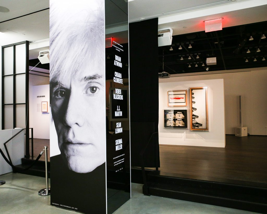 Grand Opening of the Letters to Andy Warhol Exhibition